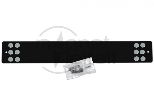 metal bar for magnets long black