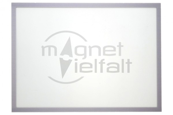 Magnetic frame DIN A4, 229 x 315 mm, color: gray