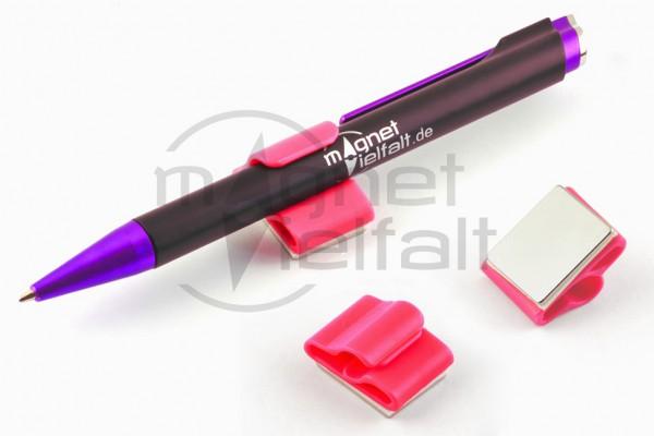 1030 Magnetischer Stifthalter leuchtrosa