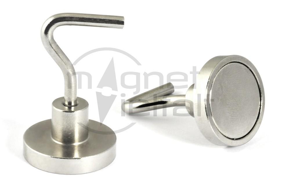 Neu Hook magnets with neodymium core | Magnetvielfalt CG38