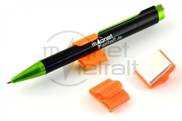1030 Magnetischer Stifthalter leuchtorange