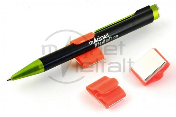 1030 Magnetischer Stifthalter leuchtrot