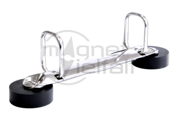 Magnetische Ringbuchmechanik Q-Form 2 Ringe