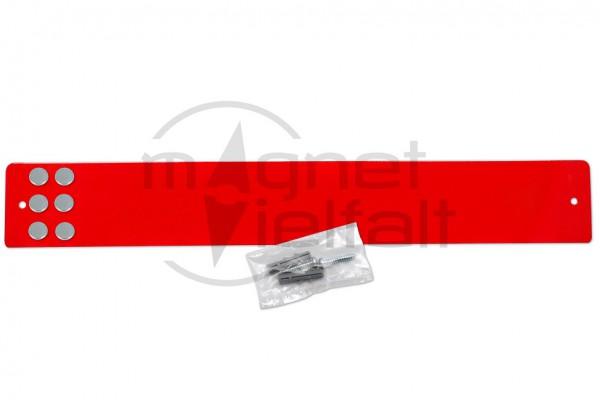 Magnetleiste kurz rot