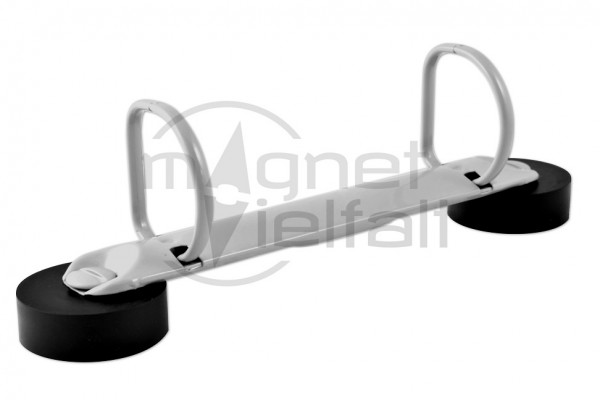 Magnetische Ringbuchmechaniken D-Form-2-Ring-grau