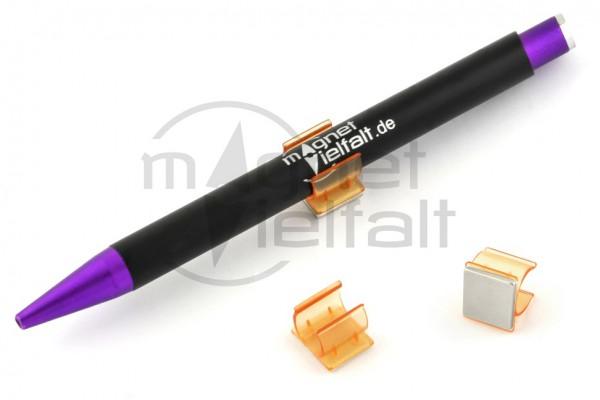 Stifthalter magnetisch orange 5