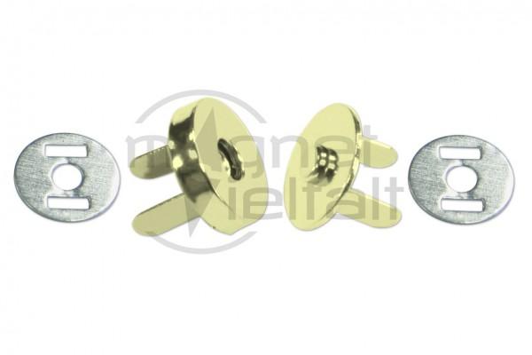 Magnetverschlüsse 10-18 mm vermessingt
