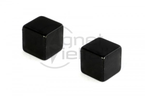 cube magnets black