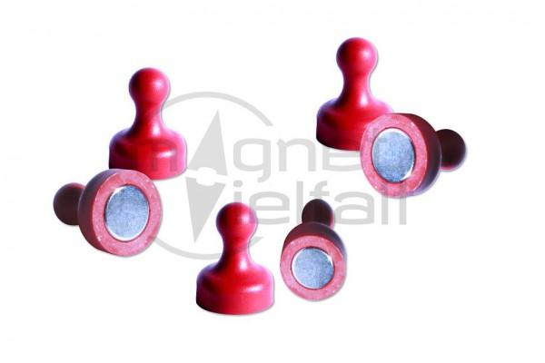 Kegelmagnete rot