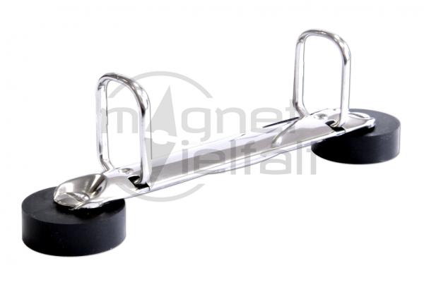 Magnetische Ringbuchmechanik Q-Form-2-Ringe